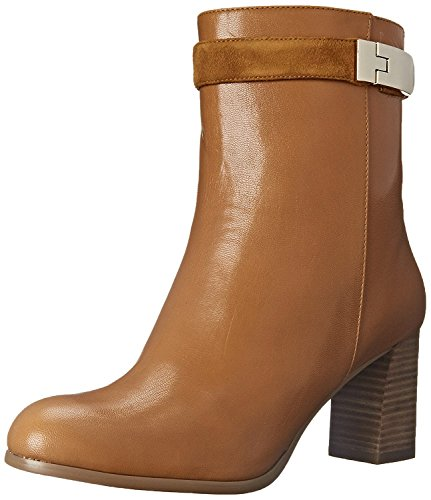 Nine West Women's Intimidate Leather Boot, Dark Natural/Dark Natural, 37 B(M) EU/5 B(M) UK