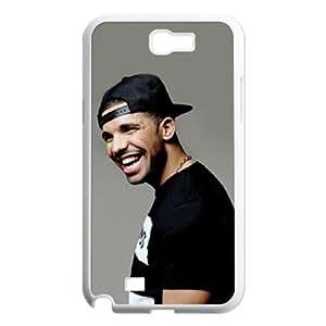 C-EUR Diy Phone Case Drake Pattern Hard Case For Samsung Galaxy Note 2 N7100