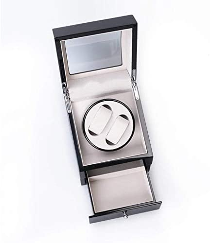 ギフトウォッチワインダーウォッチワインダーボックスピアノ機械式時計自動ウォッチボックス腕時計自動ウォッチワインダーボックス(カラー:B)巻ペイント、色名:Bを (Color : B)