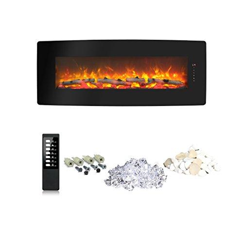 50 inch wall fireplace - 9