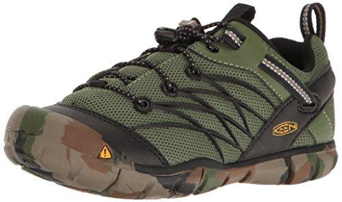 Keen Kids' Chandler Cnx-C Sneaker, Crushed Bronze/Green, ...