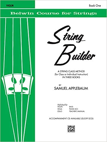 String Builder: Violin Book 1 Belwin Course for Strings