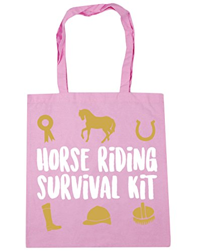 Classic 10 Gym Horse Bag Beach 42cm litres Tote Pink kit x38cm Shopping HippoWarehouse survival riding FPgTOHO