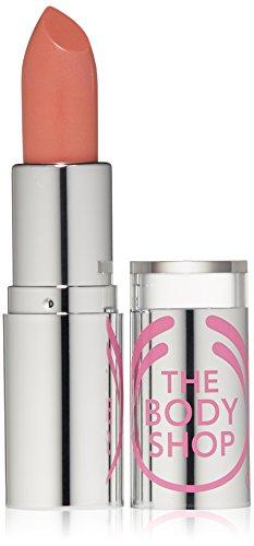 The Body Shop Color Crush Shine Lipstick, Nude Allure, 0.12 Ounce