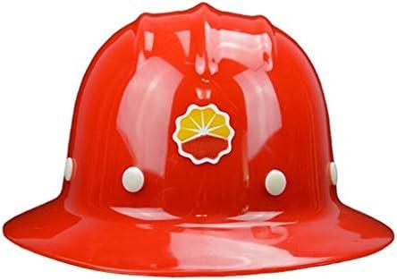 屋外長キャップヘルメット調節可能な保護用ヘルメット、耐衝撃性合金樹脂製ヘルメット、日焼け防止用防雨専用ヘルメット (Color : Red)