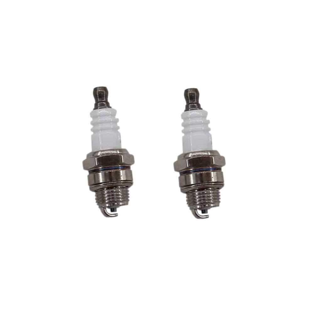 Aisen 2Pack Bougie d'allumage Convient pour Stihl 025MS250MS 210Tronçonneuses # Bosch wsr6F