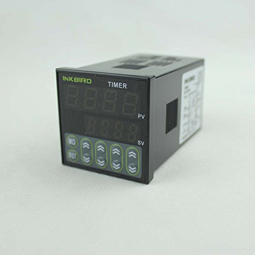 Inkbird Digital Tact Switch Preset Scale Counter Register Twin Timer Relay Time Delay (idt-e2rh)