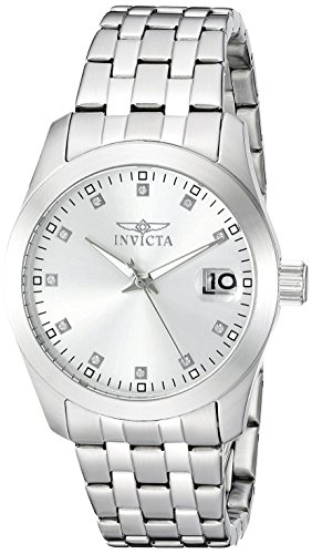 Invicta Women's 20526 Wildflower Analog Display Japanese Quartz Silver Watch