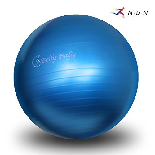 NDN LINE Birthing Ball (Exercise Ball, Gym Ball, Swiss Ball, Stability Ball,...