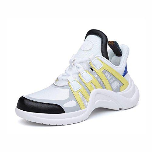 C Scarpe da Colore Sneakers ginnastica 40 esterno pelle running donna da donna da traspirante Scarpe in B coreana da Dimensione casual Scarpe da 4pBEq