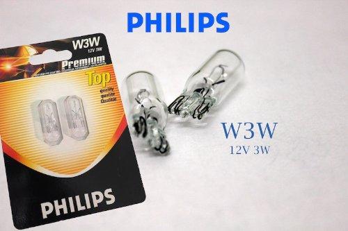 Original PHILIPS 1 - Set T10 W5W 12V 5W PREMIUM Soffitte Standlicht Parklicht Scheinwerfer PREMIUM - NEU - StVO Zugelassen
