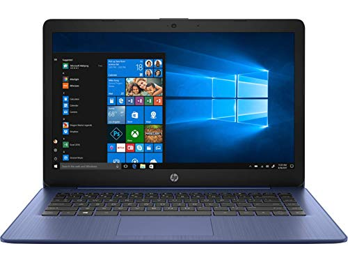 HP Stream 14inch Laptop, AMD A4-9120 Processor, 4GB DDR4 RAM, 32GB SSD, AMD Radeon R3 Graphics, WiFi, Bluetooth, HDMI, Win10 (Renewed)