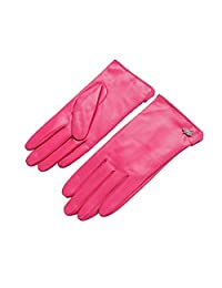 Nappaglo Nappa Leather Gloves Warm Lining Winter Multicolor Lambskin for Women