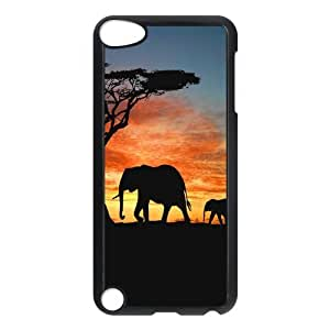Fashion Protection Cute Elephant Design Hard Cover Case For iPod Touch 5th Generation
