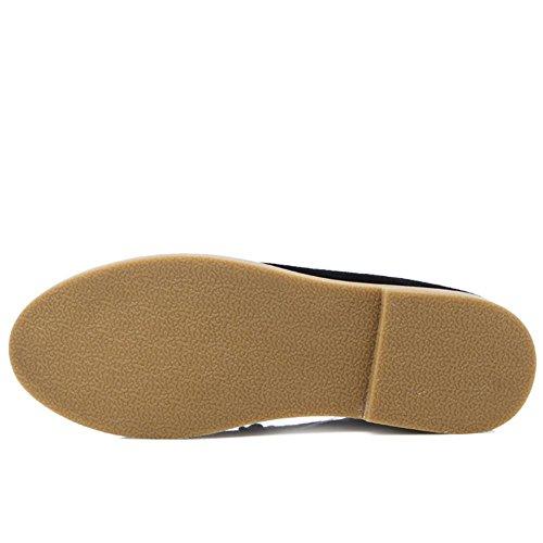 Low Shoes TAOFFEN Black Men Dress Top Fashion qIwcZIUp8