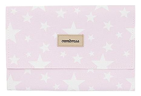 Cambrass Etoile - Funda para toallitas, 13 x 22 cm, color rosa: Amazon.es: Bebé