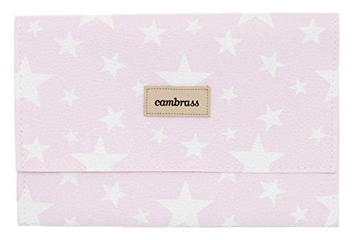 Cambrass Etoile - Funda para toallitas, 13 x 22 cm, color rosa 39459