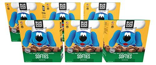 Blue Dog Bakery Natural Dog Treats, Softies, Peanut Butter ()