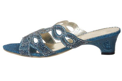 John Pour Bleu Femme JohnFashion Sandales Fashion x7RpqP