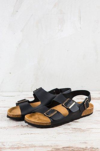 Plakton Homme 41 Sandales Pl1 Noir 178 Eu Pour wqBf6w