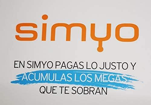 Simyo - Tarjeta sim prepago con 1 GB y 100 min.