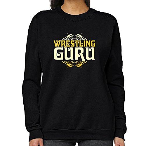 Teeburon Wrestling GURU Women Sweatshirt by Teeburon
