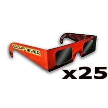 Thousand Oaks Optical gl-25–Negro anteojos de Película de Polímero de Filtro Solar (un Paquete DE 25Cada uno)