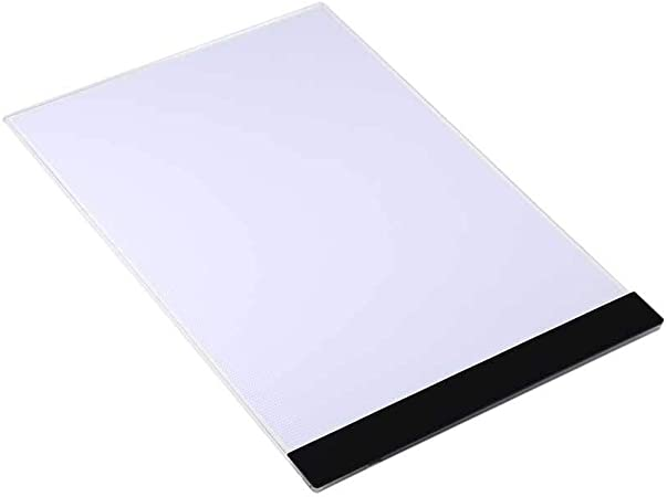 Akozon Tablero de la luz del tablero de dibujo, Regalo Los Reyes Magos, A4 LED Caja de luz artista Dibujo almohadilla, copiar almohadilla, Almohadilla de seguimiento(EU): Amazon.es: Hogar