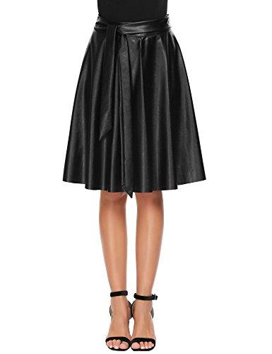 Length Black Leather - 8