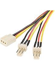 StarTech.com 30cm TX3 ventilator splitter kabel, 3-pins ventilator stroomkabel