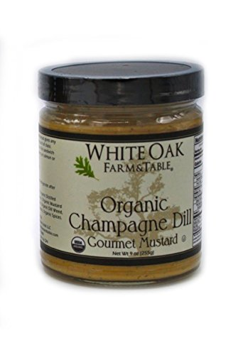 able Organic Champagne Dill Gourmet Mustard, 9 Ounce ()