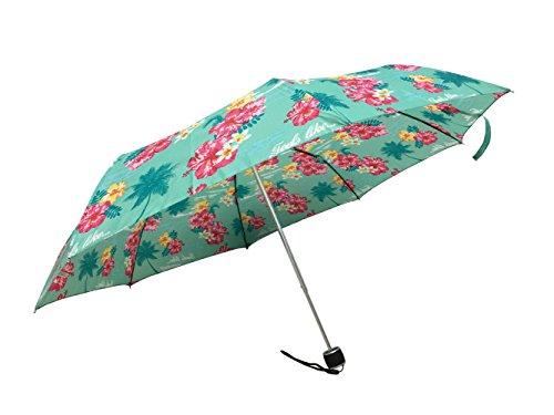 LILAC Mini Compact Umbrella Manual Open Close Cute Umbrellas Windproof Waterproof Tropical (Manual Open Compact Umbrella)