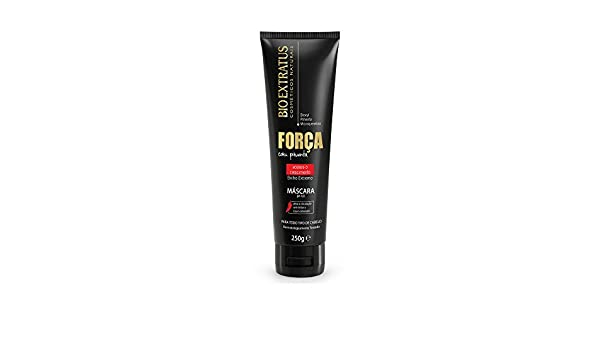 Amazon.com: Linha Forca com Pimenta (Forca e Crescimento) Bio Extratus - Mascara 250 Gr - (Bio Extratus Pepper Strength (Strength And Growth) Collection ...