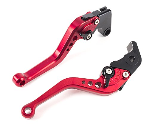 Motorcycle lever CNC short clutch lever brake lever Adjustable aluminum for sport bike YAMAHA YZF R1 YZF R6 R6S CANADA VERSION R6S EUROPE VERSION a pair (R104/Y688) SPL072 ()