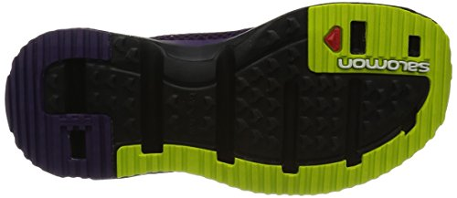 Salomon Damen RX Slide 3.0 Pantoletten Violett (Cosmic Purple/Black/Gecko Green)