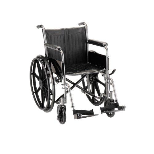 "NOVA Medical Products 18"" Hammertone Wheelchair"