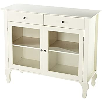Target Marketing Systems Layla Collection Modern Antique Style Two Drawer Cabinet Shelf Buffet This Item