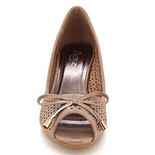 Femmes Des Sur Chaussures Moyenglisser Décontractéetalon Bal Dames 2DWIEH9