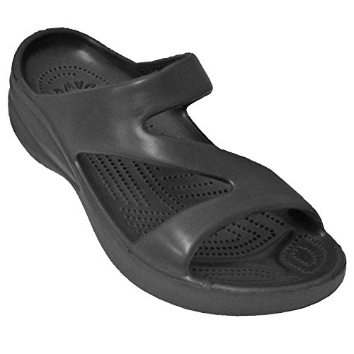 DAWGS Ladies Z Sandal,Black,8 M US from DAWGS