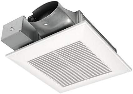 Panasonic FV-0510VSC1 WhisperValue Multi-Flow Bathroom Fan, White