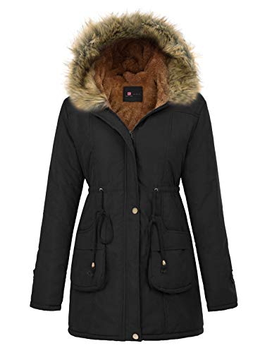 A hooded parka to keep the chill out