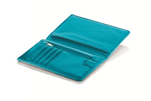 Travel Smart by Conair RFID-Blocking Passport Wallet Teal