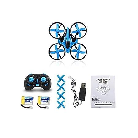 XuBa H36 Mini dron 2.4 GHz 4 CH 6 Ejes giroscopio 3D Flip RTF ...