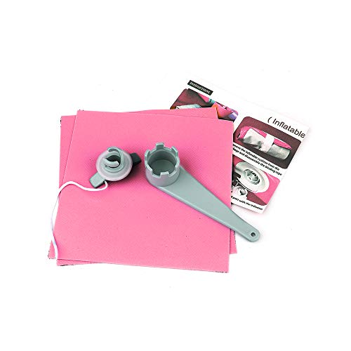 FBSPORT Repair kit for Air Track, Tumbling Mat, Inflatable Gymnastics Airtrack Mat, Air Floor Mat Pink