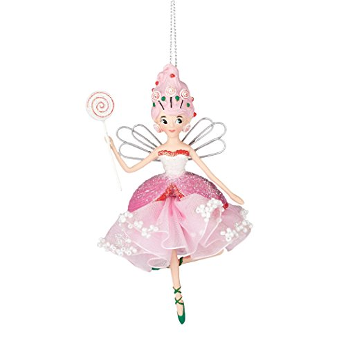 Department 56 Mrs. Claus Sweet Sornamentppe by Tootsie Lollipop Fairy Ornament 5.In