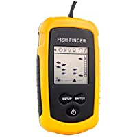 Venterior VT-FF001 Portable Fish Finder, Fishfinder with...