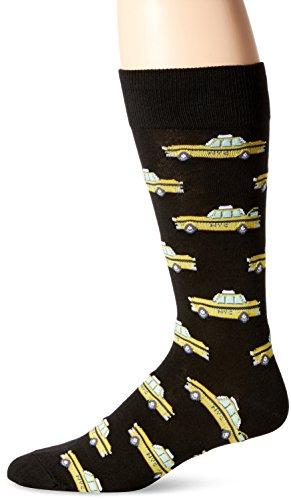 Hot Sox mens Conversational Slack Crew Socks