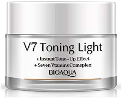 V7 Toning Light-Instant Tone & Up Effect + Seven Vitamins Complex, 50g (White)