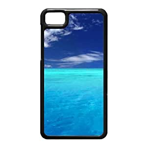 Black Berry Z10 Case,Blue Paradise High Definition Wonderful Design Cover With Hign Quality Hard Plastic Protection Case