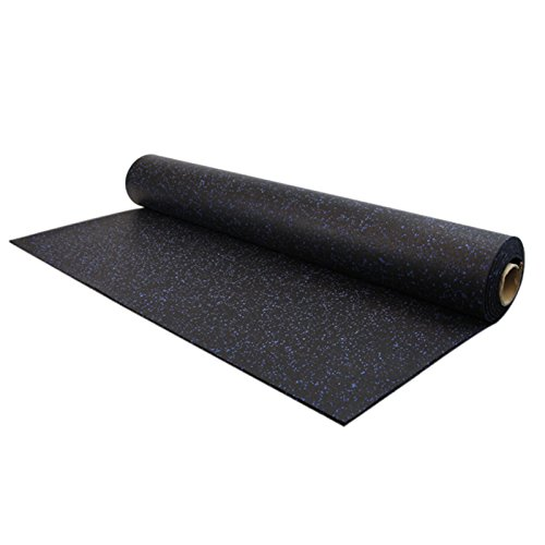 IncStores 8mm Strong Rubber Rolls 4ft x 15ft Recycled Rub...